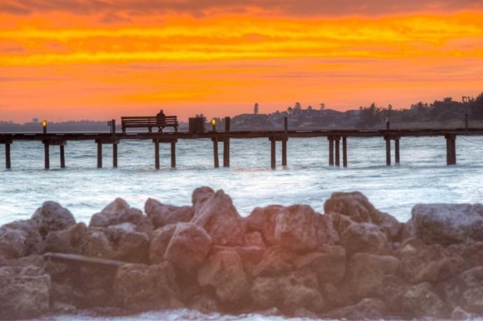 sunset ami