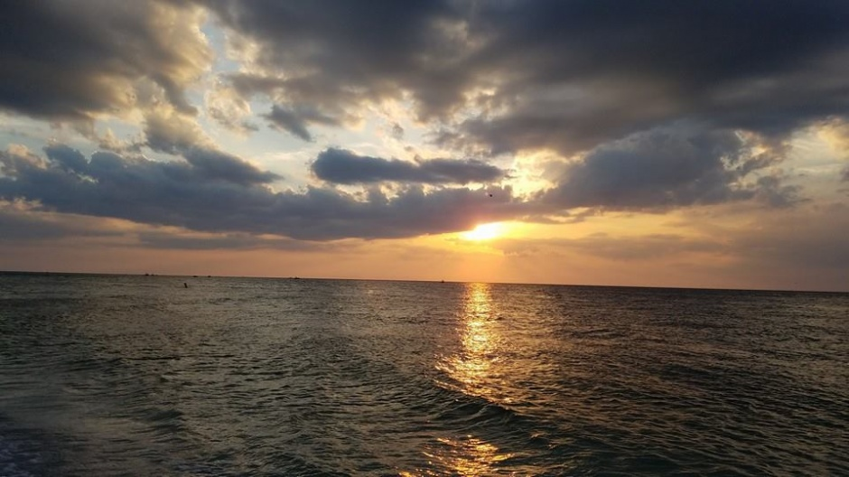 sunset anna maria island