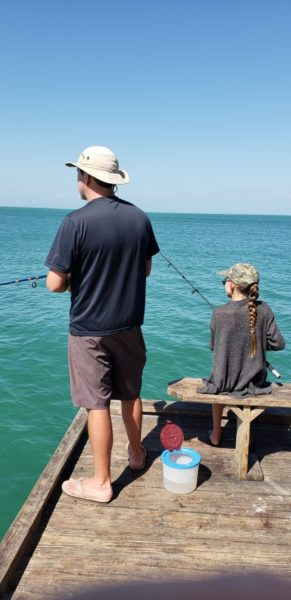 fishing rod and reel pier anna maria