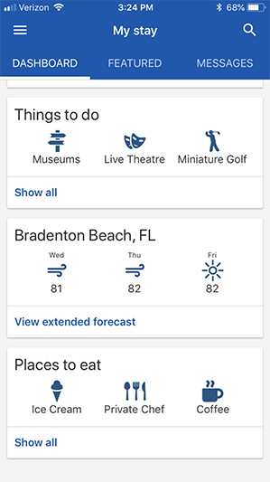 Anna Maria Vacations App for Android and Apple