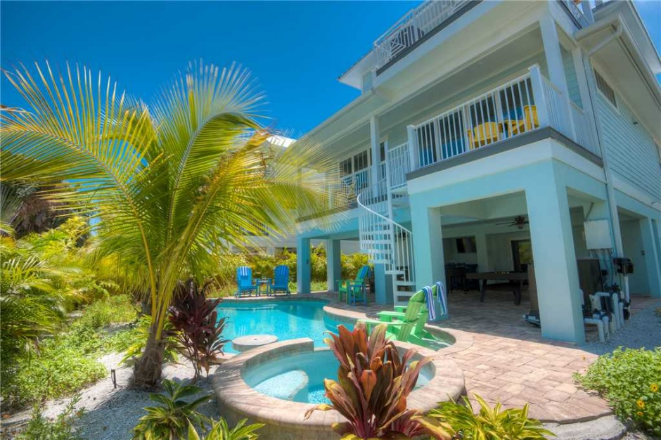 anna maria rental home with pool
