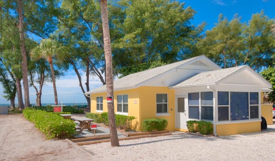 anna maria cottages beachfront