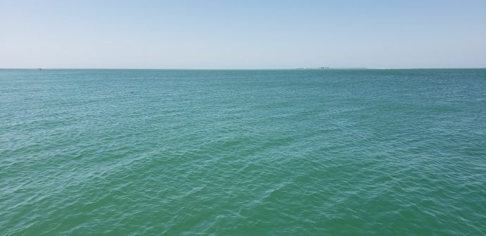 The open water in Anna Maria Island