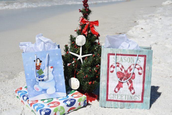Christmas on the beach Anna Maria Island